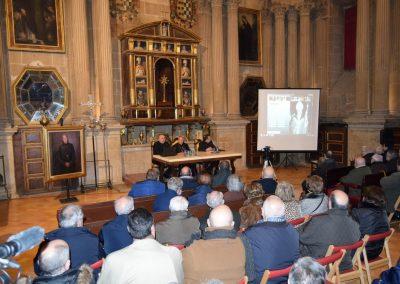 Presentación del disco interactivo homenaje a D. Miguel Peinado, realizado por Manuel Miras.