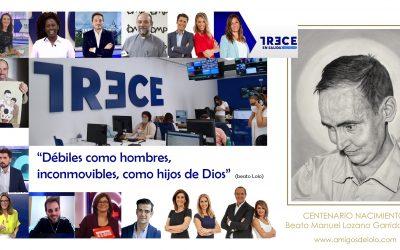 Vídeo-felicitación a TRECE por su 10º aniversario
