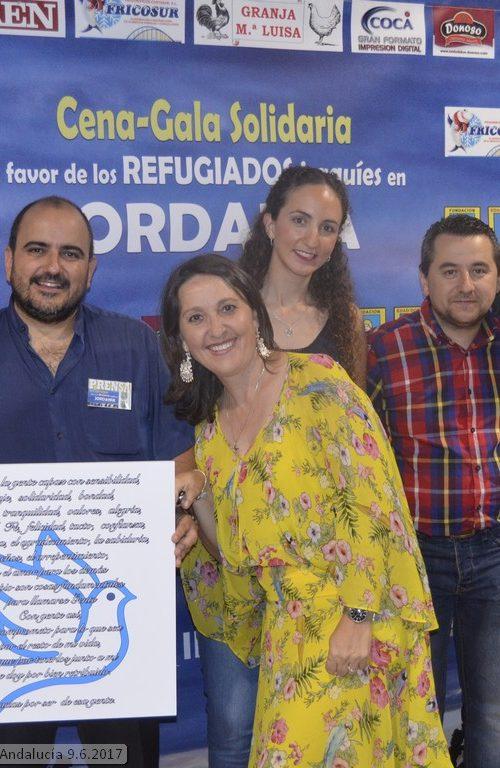Gala Solidaria 2017 Mensajeros de la Paz en Jaén. Manuel Miras diseño web profesional