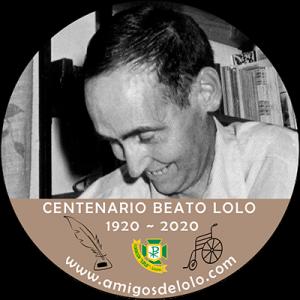 logo Centenario del beato Lolo